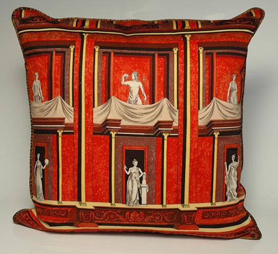 Fornasetti pillow
