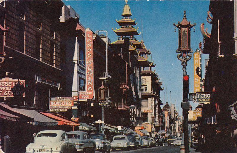 Chinatown pastcard