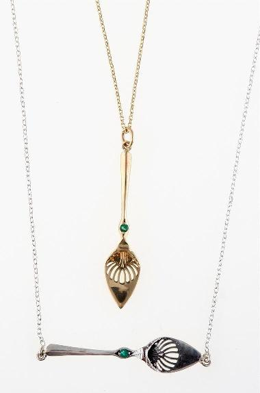 Deimtasse necklaces