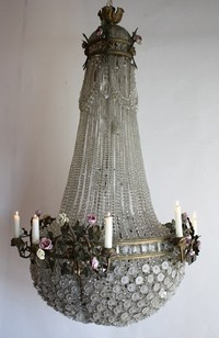 Antique French Regency Chandelier