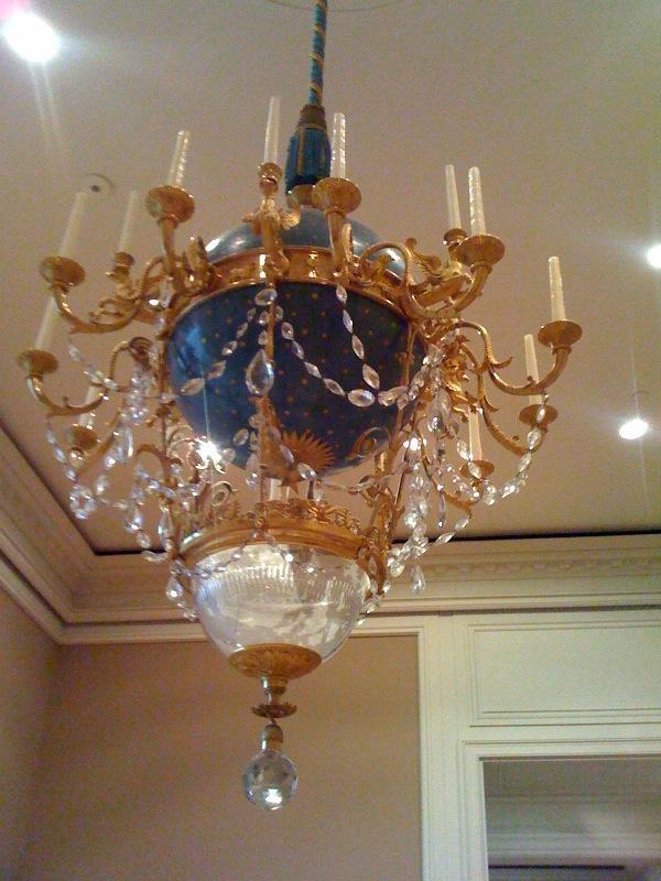 Sun king chandelier