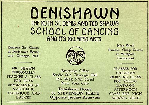 Denishawn card