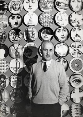 Piero fournasetti plates portrait